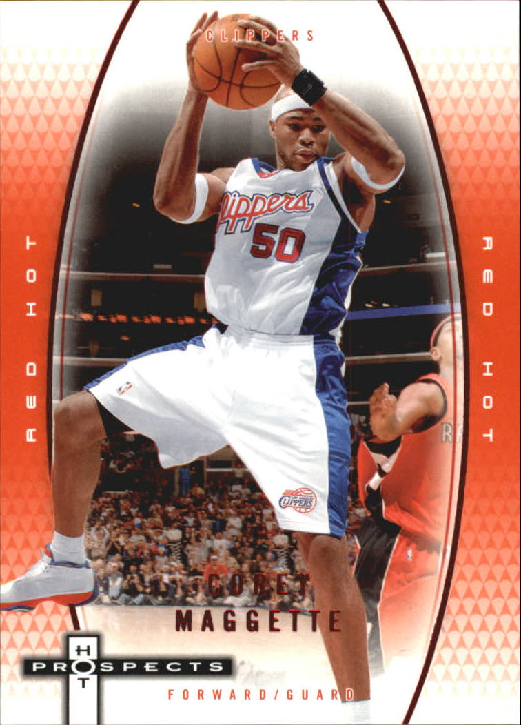 2006-07 Fleer Hot Prospects Red Hot #23 Corey Maggette