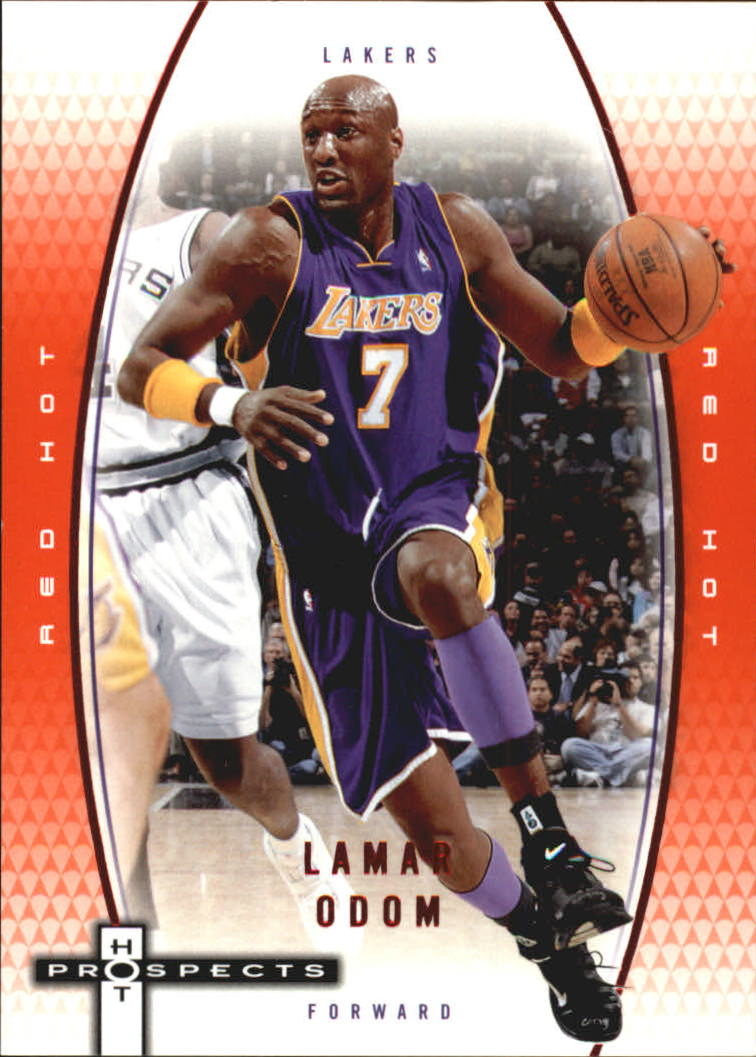2006-07 Fleer Hot Prospects Red Hot #26 Lamar Odom