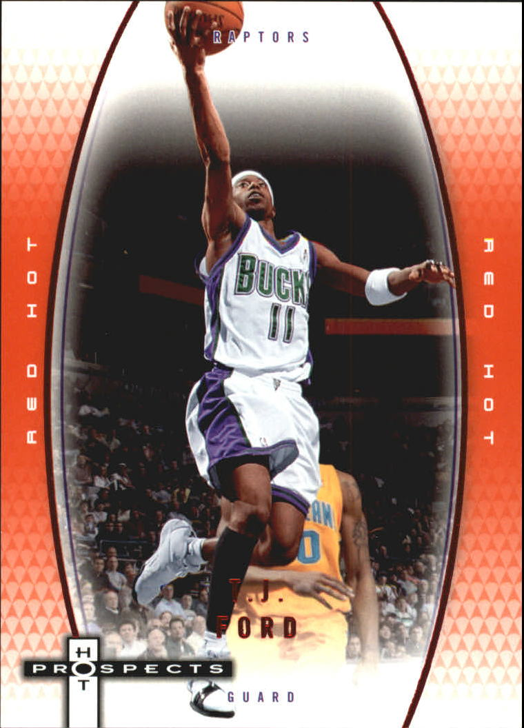 2006-07 Fleer Hot Prospects Red Hot #31 T.J. Ford