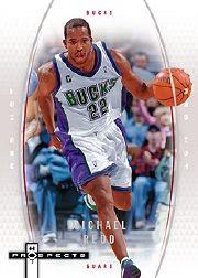 2006-07 Fleer Hot Prospects Red Hot #32 Michael Redd