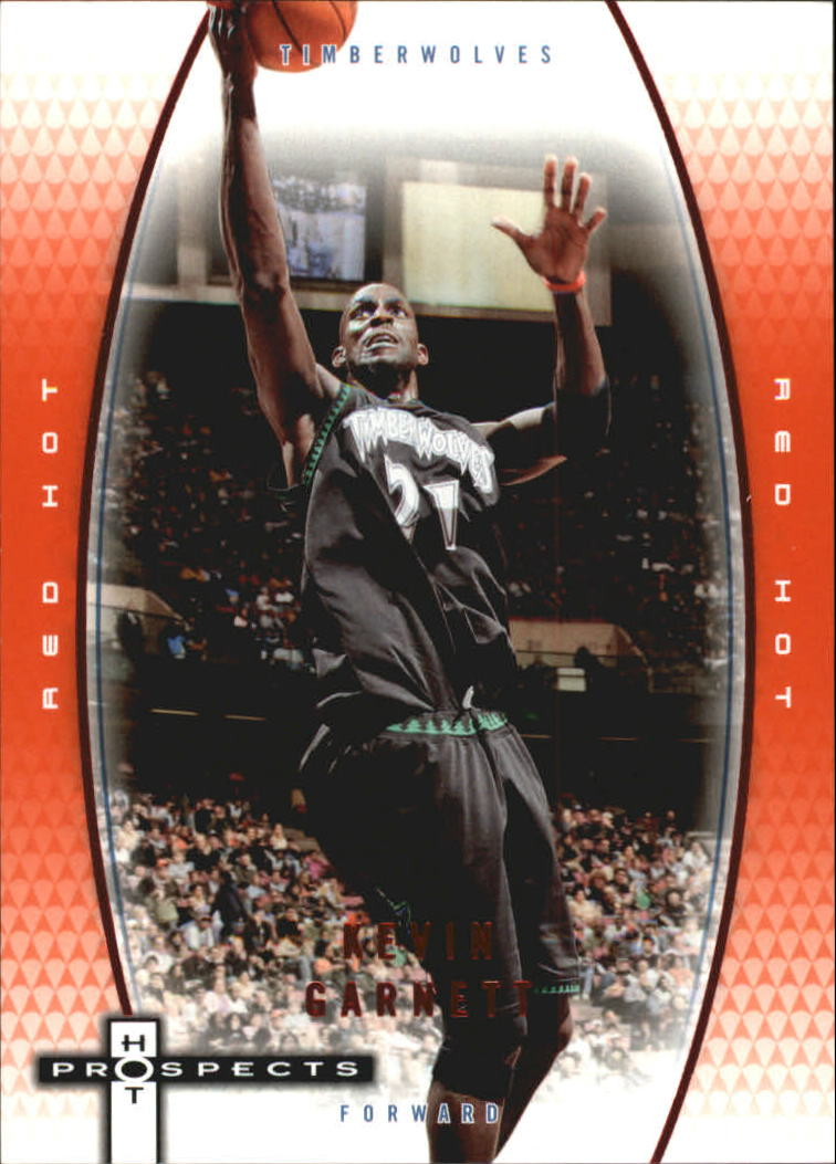 2006-07 Fleer Hot Prospects Red Hot #33 Kevin Garnett