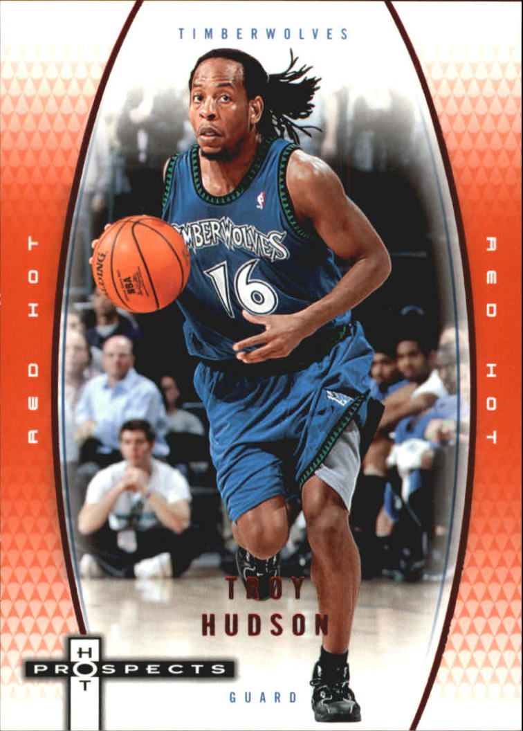 2006-07 Fleer Hot Prospects Red Hot #34 Troy Hudson