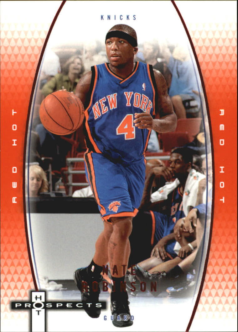 2006-07 Fleer Hot Prospects Red Hot #40 Nate Robinson