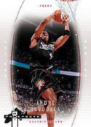 2006-07 Fleer Hot Prospects Red Hot #43 Andre Iguodala