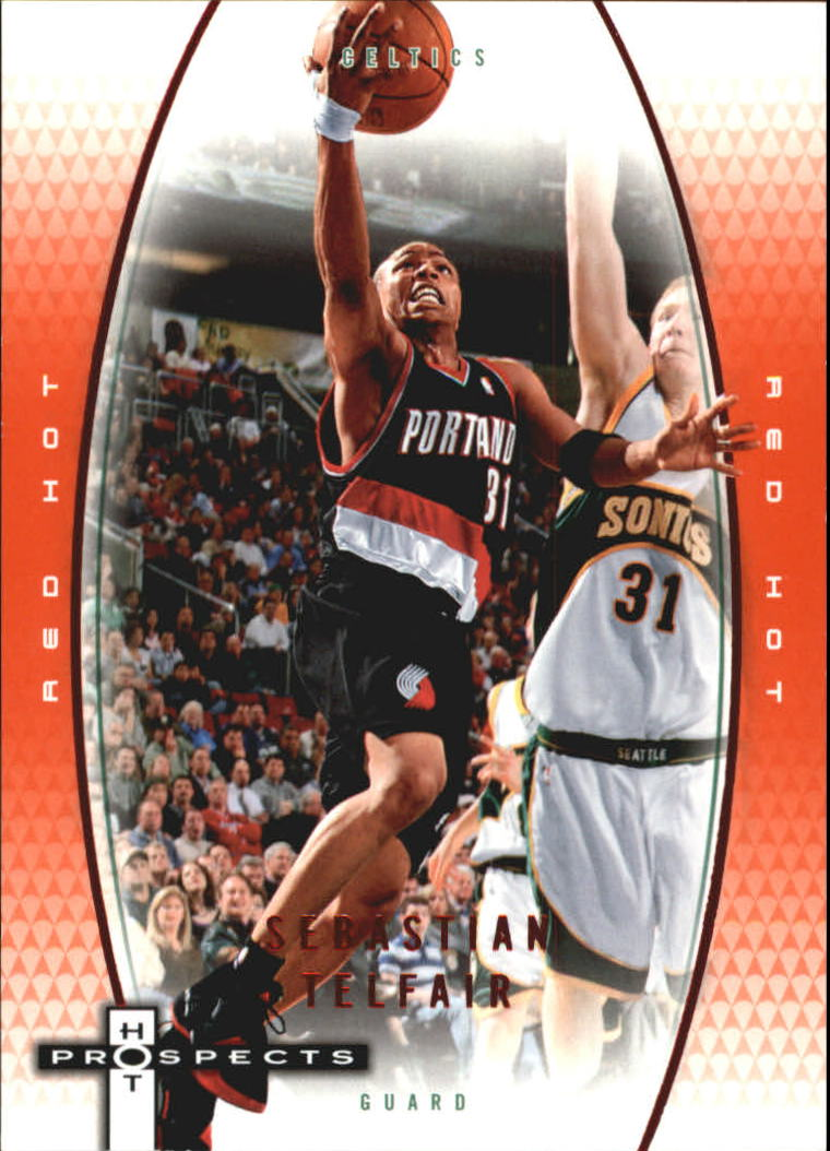 2006-07 Fleer Hot Prospects Red Hot #48 Sebastian Telfair