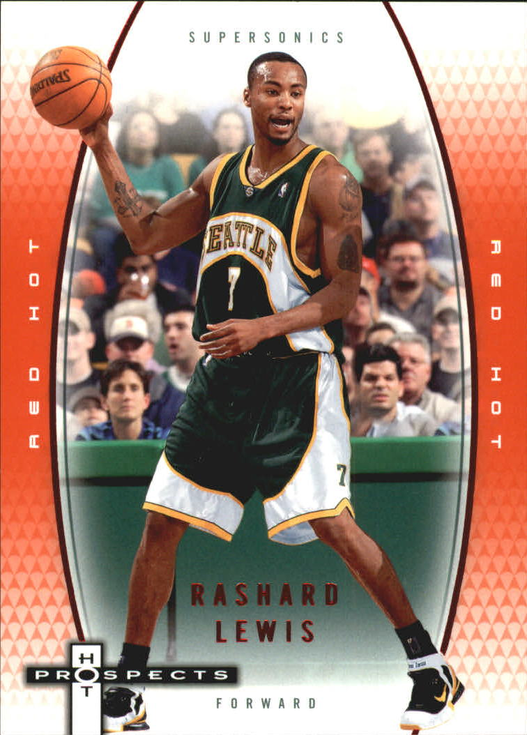 2006-07 Fleer Hot Prospects Red Hot #54 Rashard Lewis