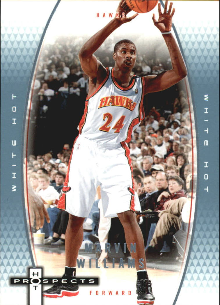 2006-07 Fleer Hot Prospects White Hot #2 Marvin Williams