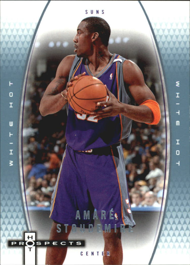 2006-07 Fleer Hot Prospects White Hot #46 Amare Stoudemire