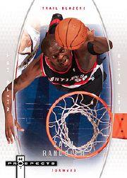 2006-07 Fleer Hot Prospects White Hot #47 Zach Randolph