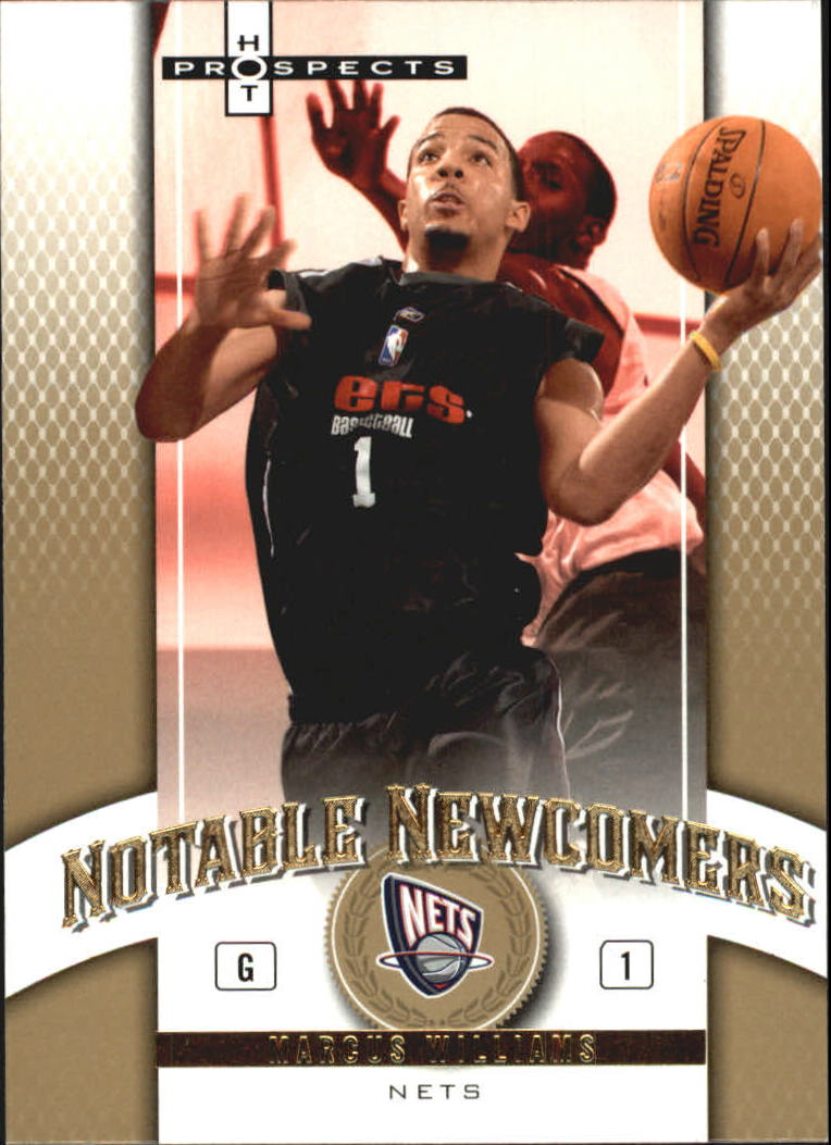 2006-07 Fleer Hot Prospects Notable Newcomers #MW Marcus Williams