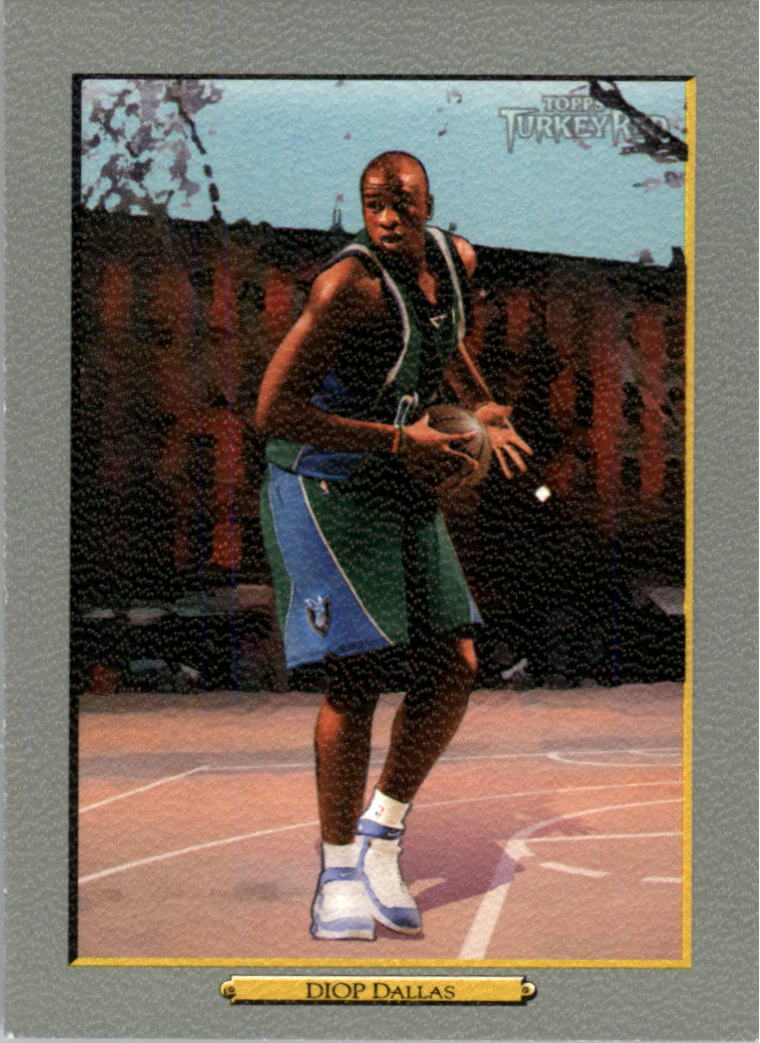2006-07 Topps Turkey Red #8 DeSagana Diop