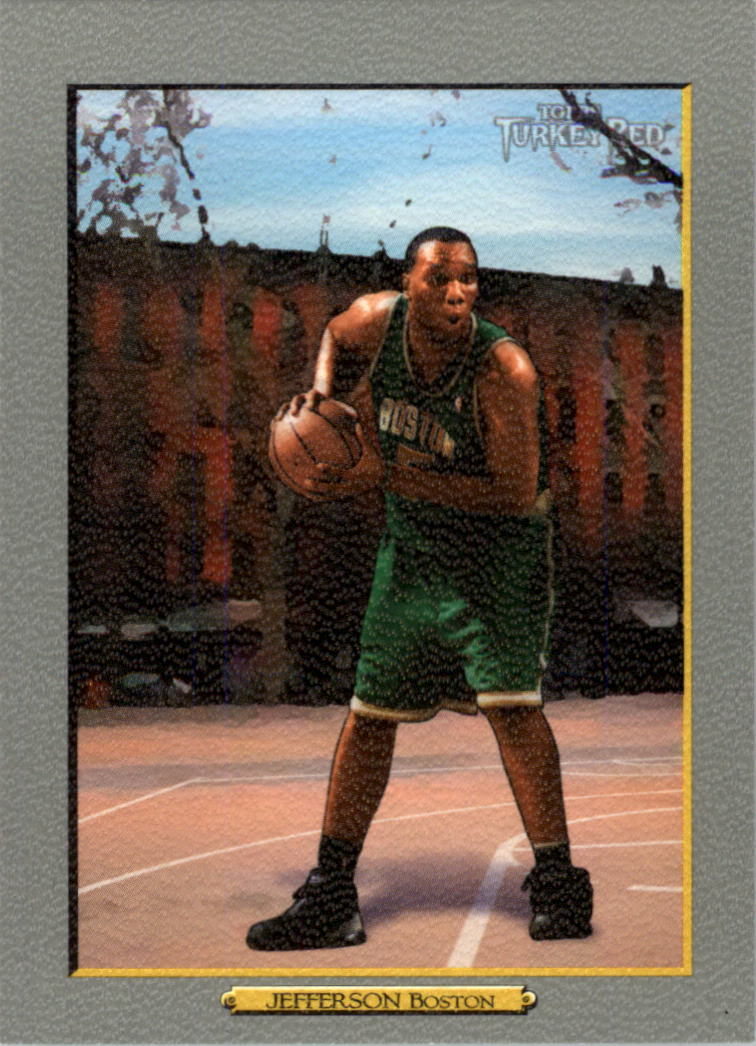 2006-07 Topps Turkey Red #18 Al Jefferson