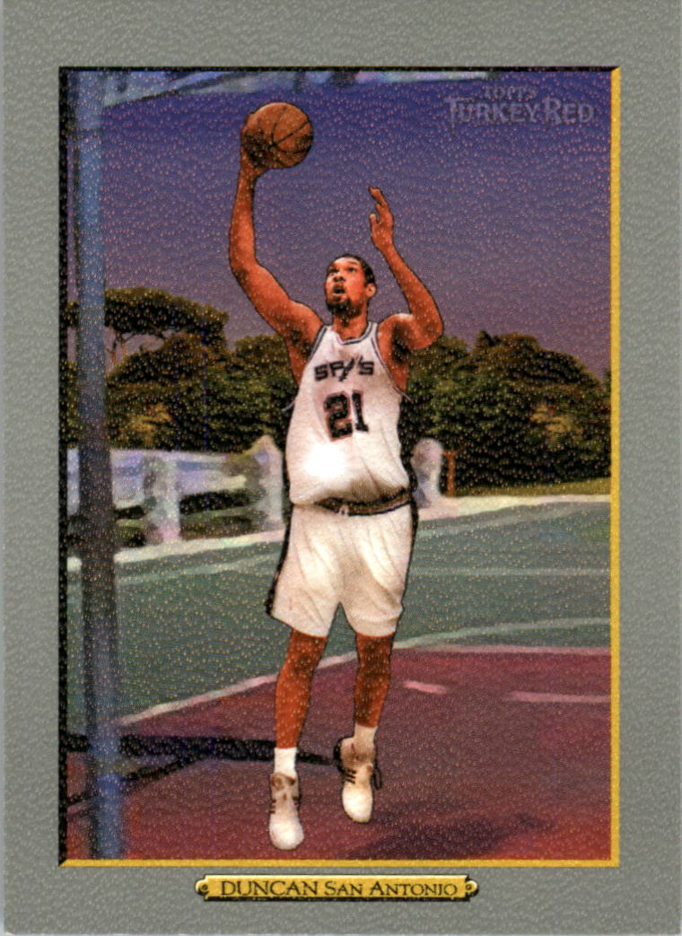 2006-07 Topps Turkey Red #21 Tim Duncan