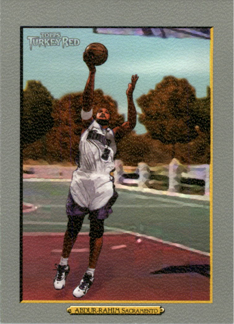 2006-07 Topps Turkey Red #28 Shareef Abdur-Rahim