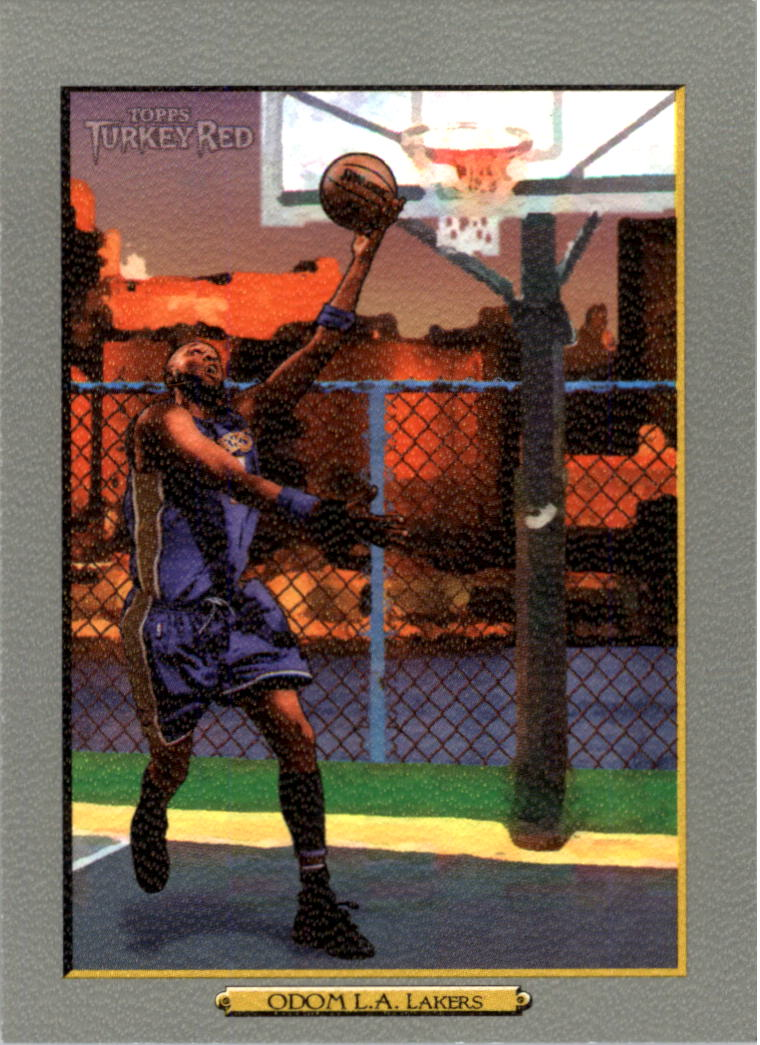 2006-07 Topps Turkey Red #39 Lamar Odom