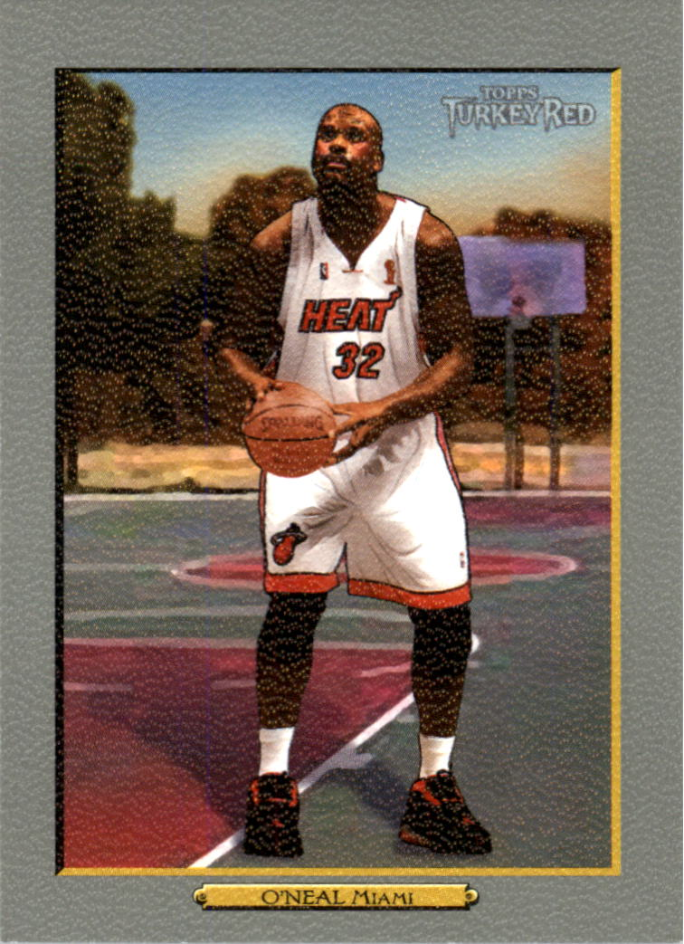 2006-07 Topps Turkey Red #40 Shaquille O'Neal