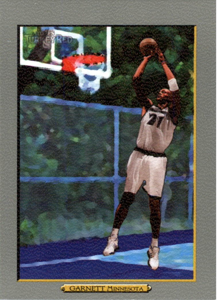 2006-07 Topps Turkey Red #48 Kevin Garnett