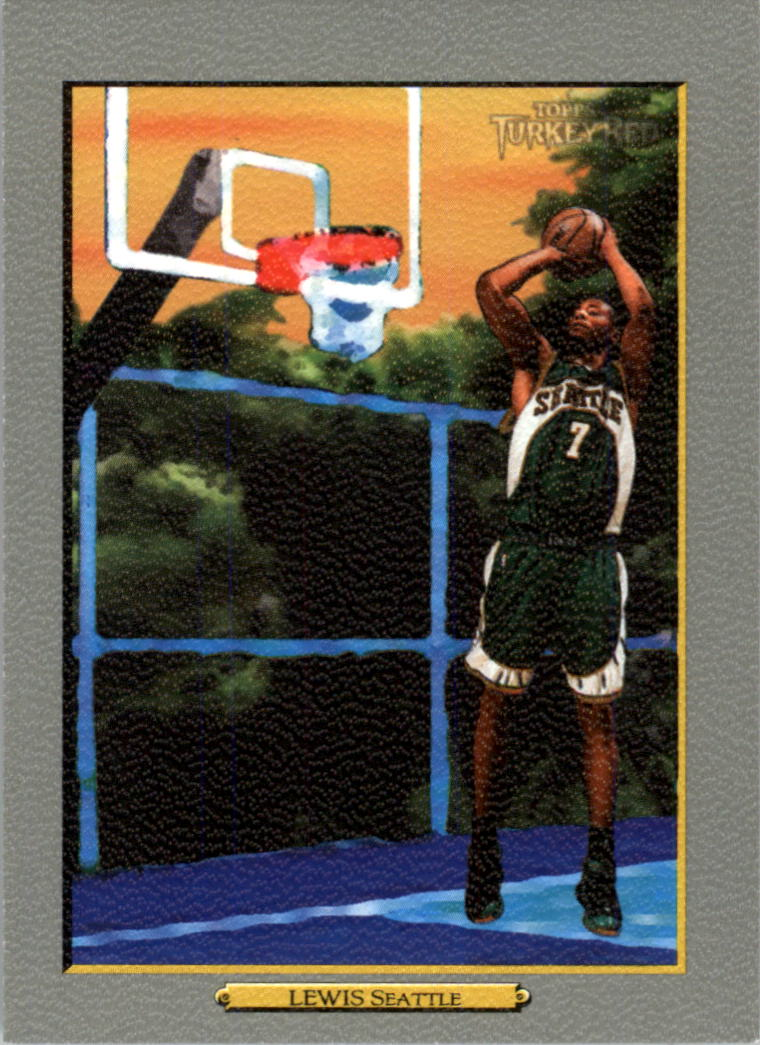 2006-07 Topps Turkey Red #51 Rashard Lewis