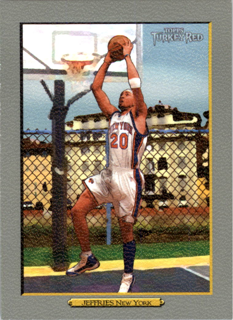 2006-07 Topps Turkey Red #54 Jared Jeffries
