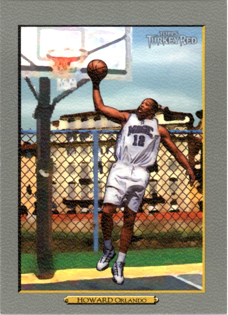 2006-07 Topps Turkey Red #60 Dwight Howard