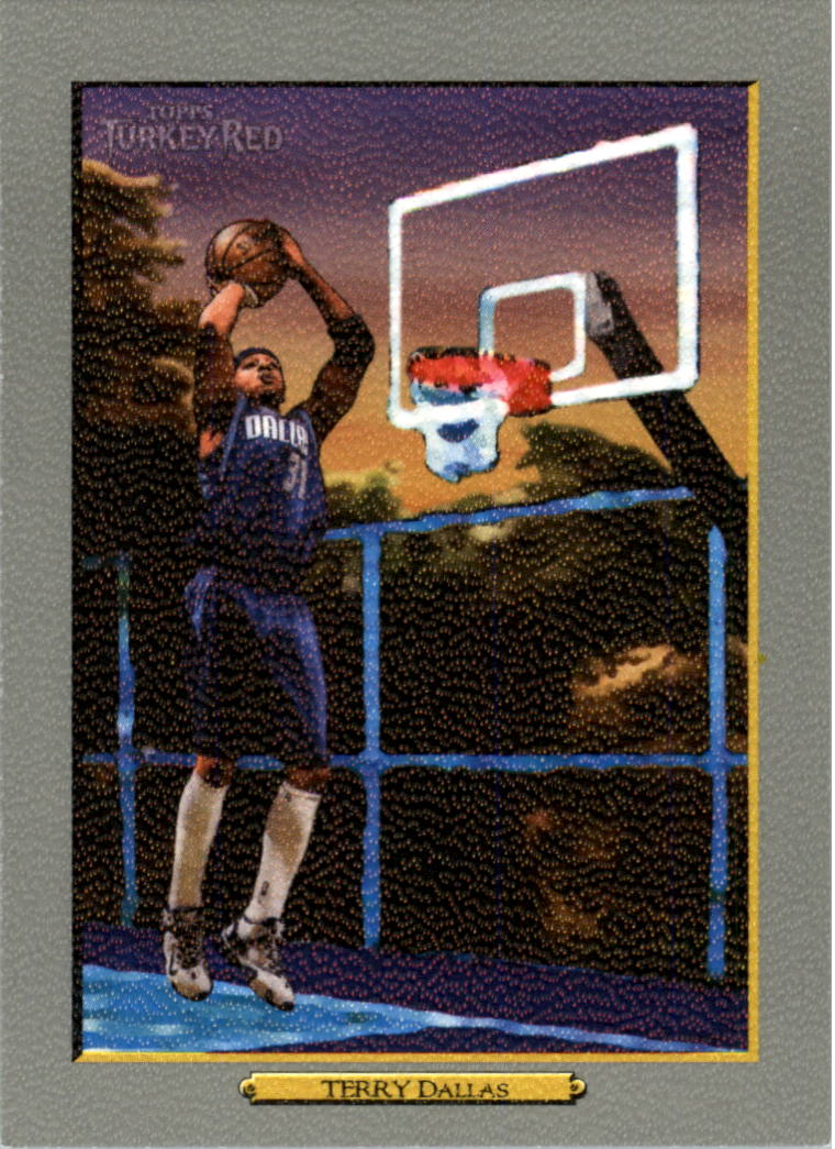2006-07 Topps Turkey Red #100 Jason Terry