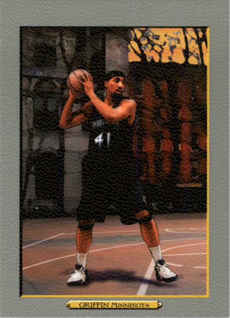 2006-07 Topps Turkey Red #104 Eddie Griffin