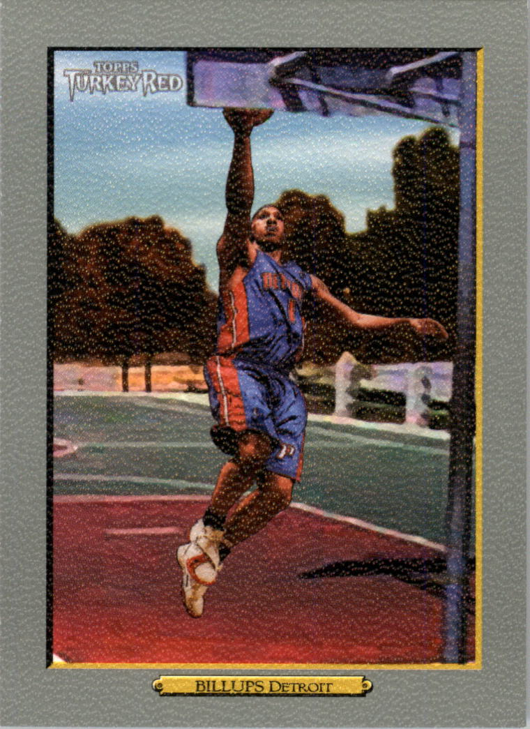 2006-07 Topps Turkey Red #108 Chauncey Billups