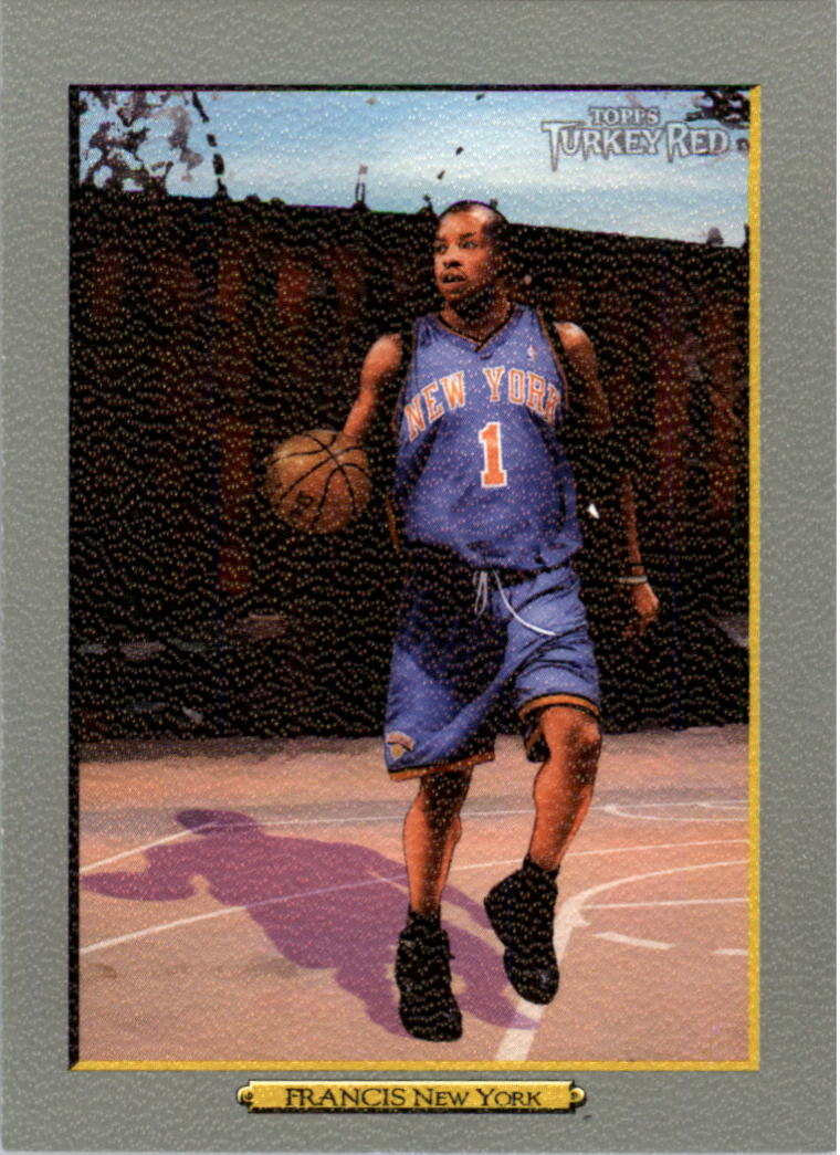 2006-07 Topps Turkey Red #111 Steve Francis