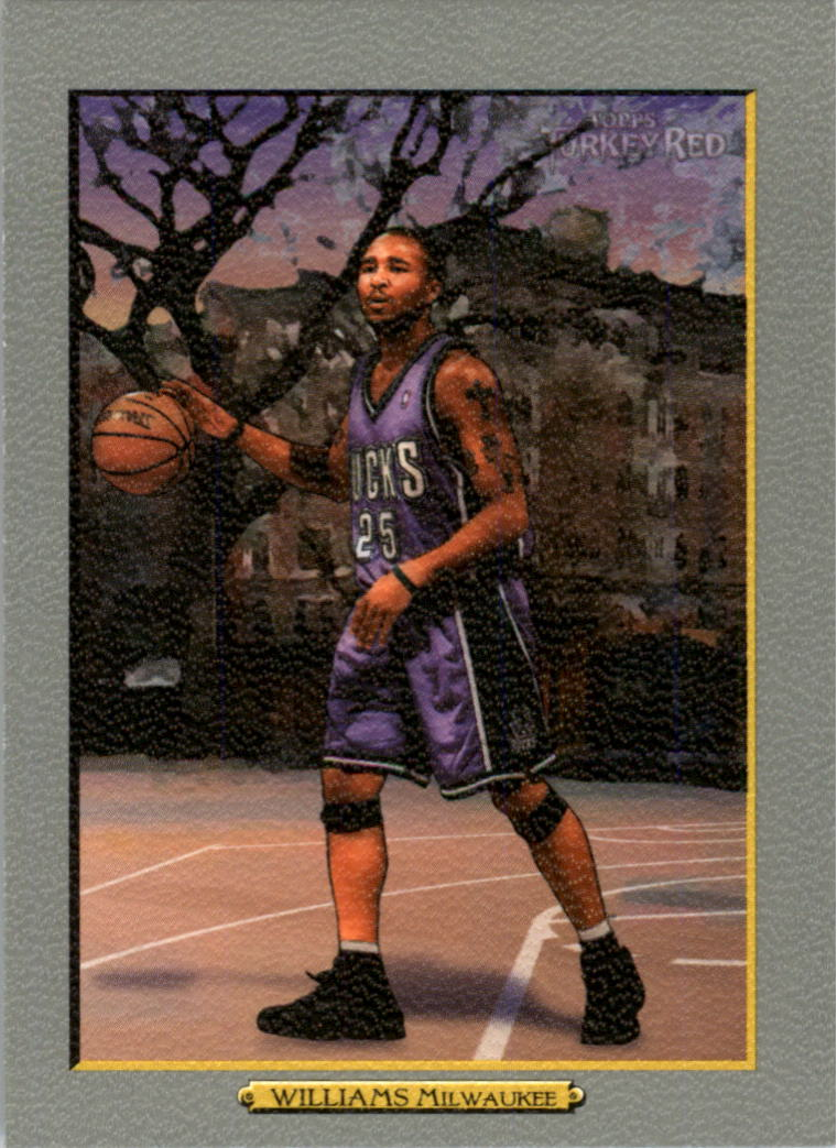 2006-07 Topps Turkey Red #115 Maurice Williams