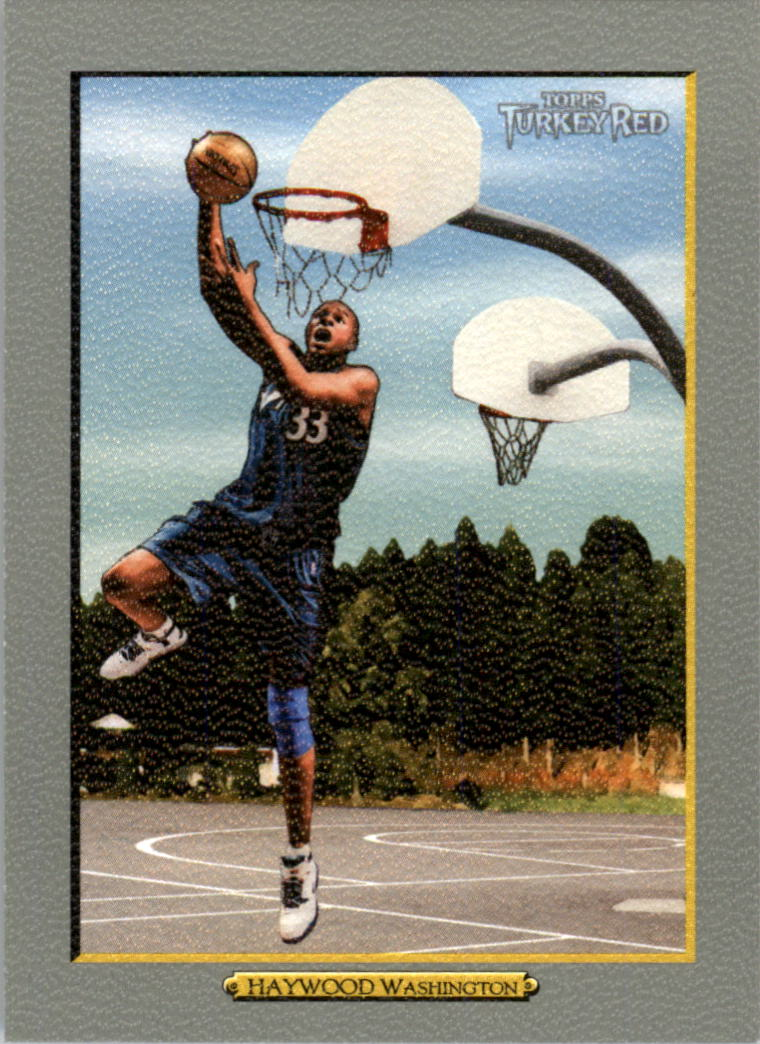 2006-07 Topps Turkey Red #117 Brendan Haywood