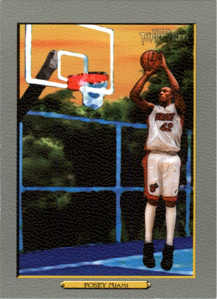 2006-07 Topps Turkey Red #125 James Posey