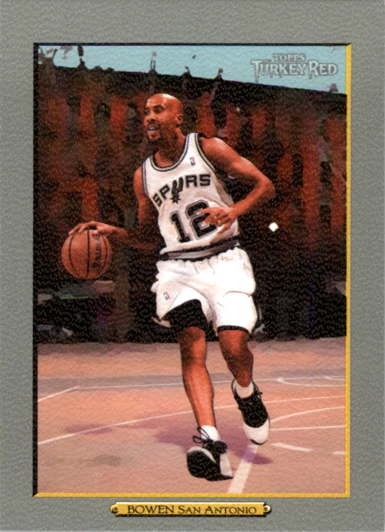 2006-07 Topps Turkey Red #132 Bruce Bowen