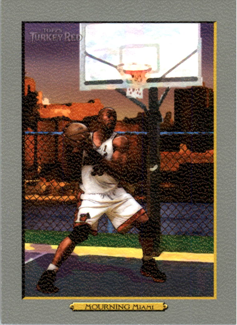 2006-07 Topps Turkey Red #138 Alonzo Mourning