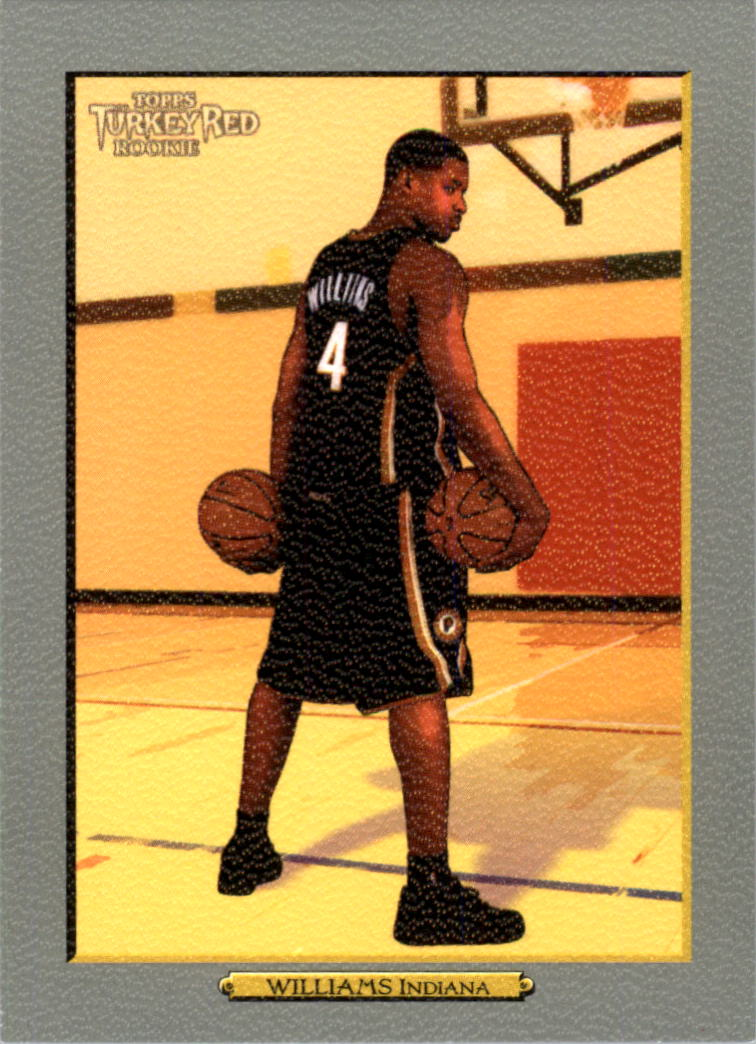2006-07 Topps Turkey Red #186 Shawne Williams RC front image