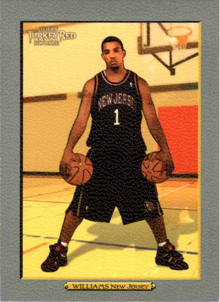 2006-07 Topps Turkey Red #201 Marcus Williams RC front image