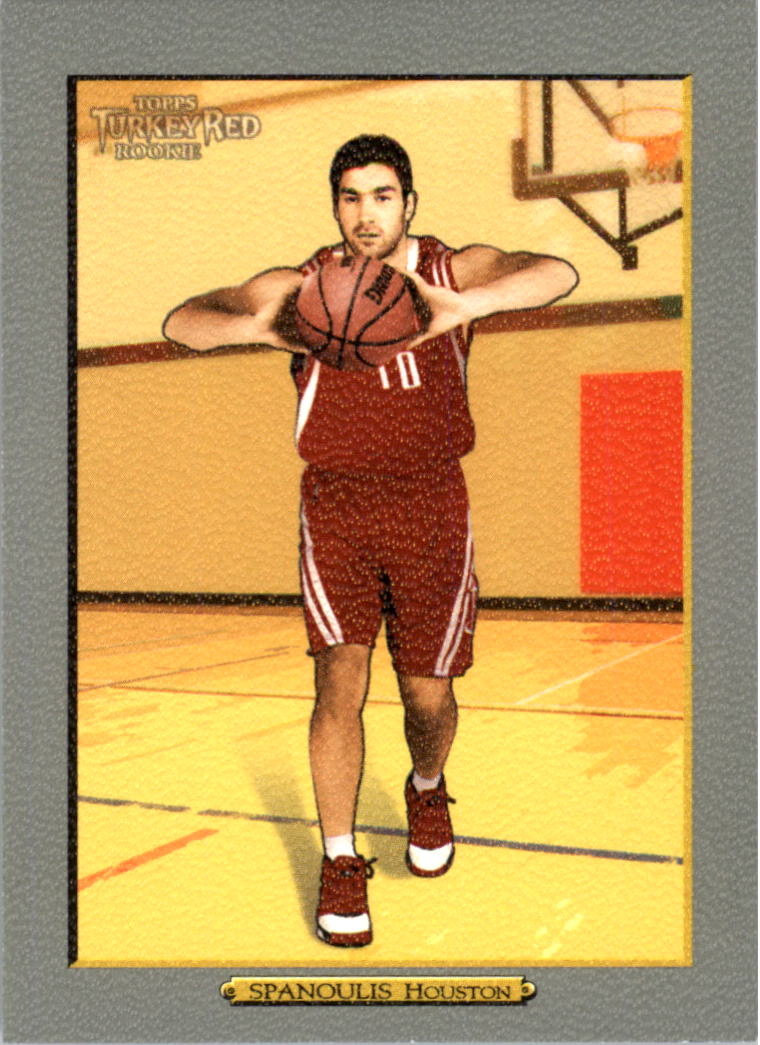 2006-07 Topps Turkey Red #203 Vassilis Spanoulis RC