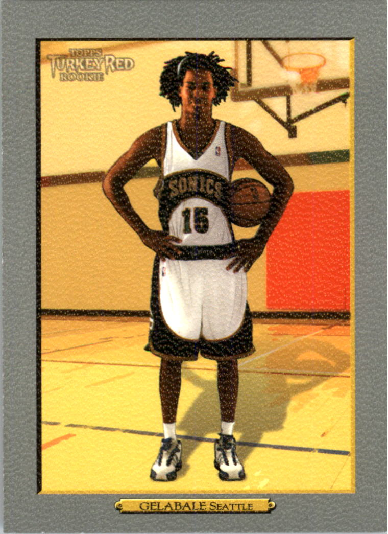 2006-07 Topps Turkey Red #217 Mickael Gelabale RC
