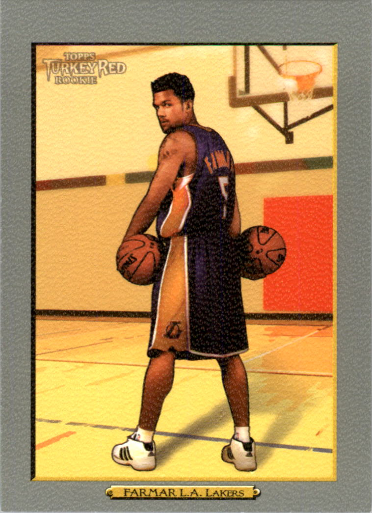 2006-07 Topps Turkey Red #221 Jordan Farmar RC