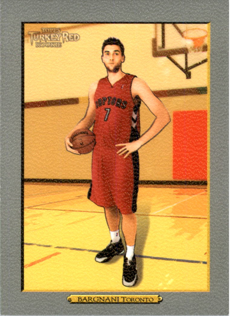 2006-07 Topps Turkey Red #225 Andrea Bargnani RC
