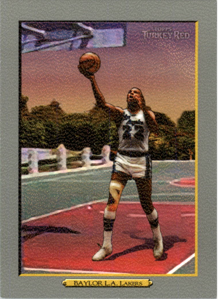 2006-07 Topps Turkey Red #239 Elgin Baylor front image