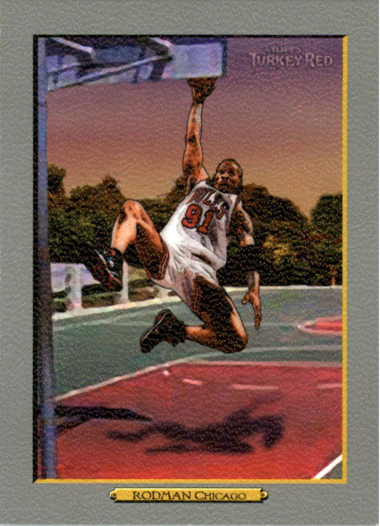 2006-07 Topps Turkey Red #242 Dennis Rodman