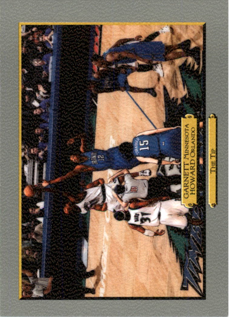 2006-07 Topps Turkey Red #256 Kevin Garnett/Dwight Howard CL