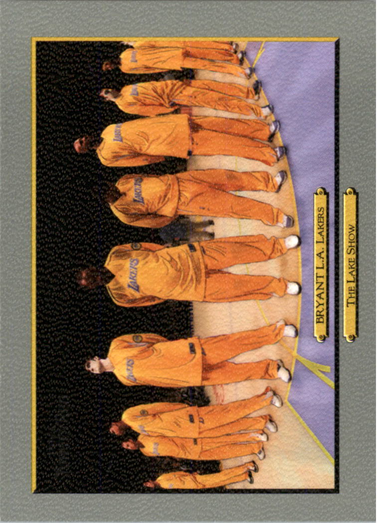 2006-07 Topps Turkey Red #258 Kobe Bryant/Lakers Team CL