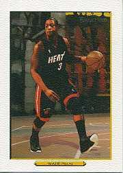 2006-07 Topps Turkey Red White #1 Dwyane Wade