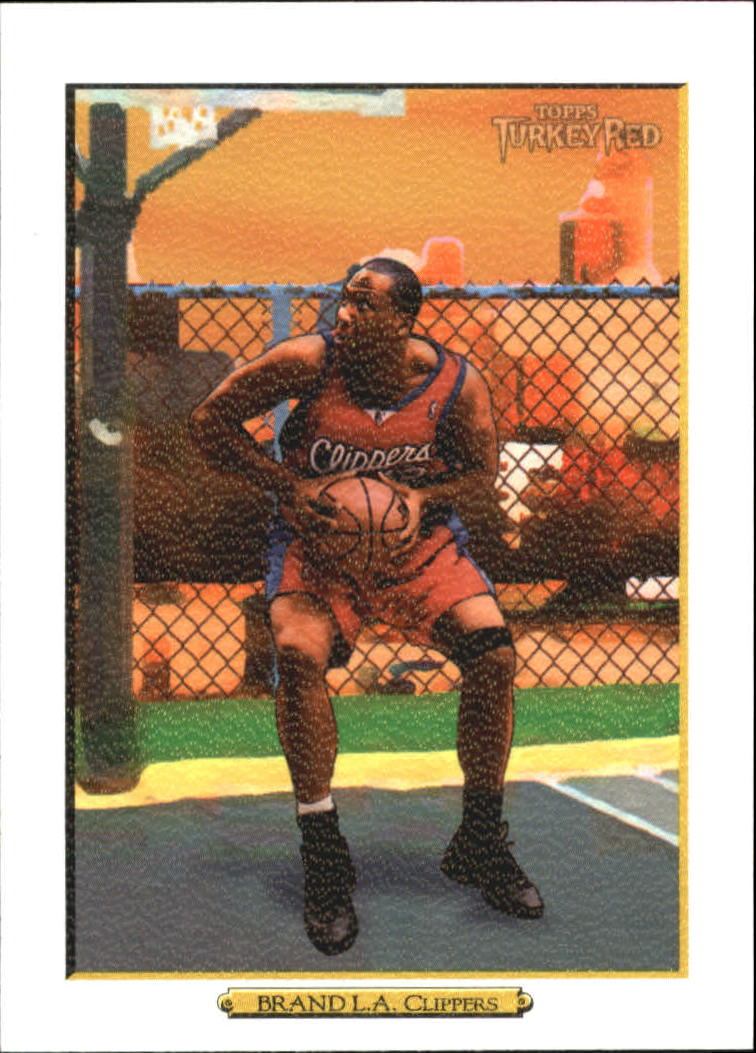 2006-07 Topps Turkey Red White #92 Elton Brand