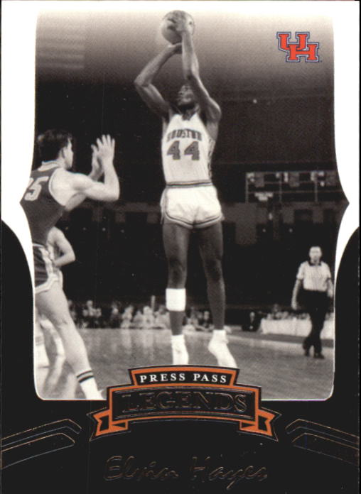 2006-07 Press Pass Legends #28 Elvin Hayes