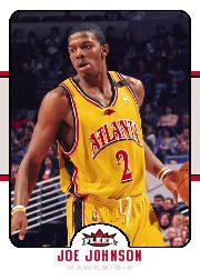 2006-07 Fleer #3 Joe Johnson