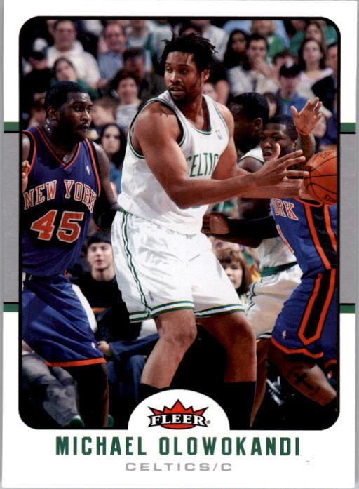 2006-07 Fleer #11 Michael Olowokandi