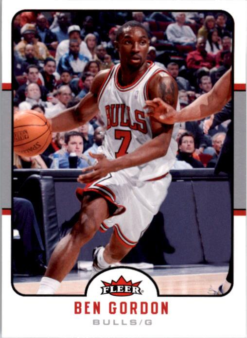2006-07 Fleer #24 Ben Gordon
