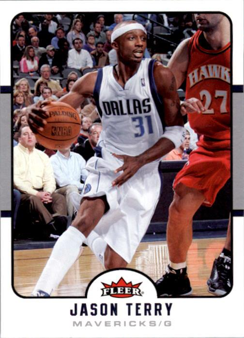 2006-07 Fleer #41 Jason Terry